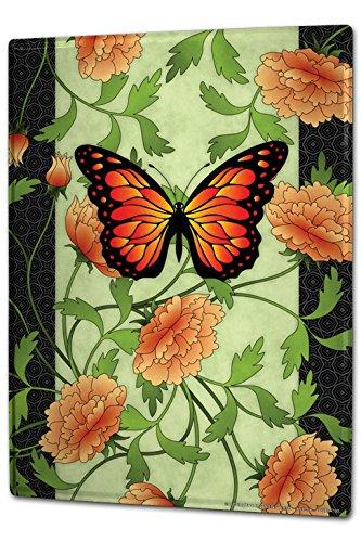 Cartello Targa in Metallo XXL Pratica Veterinario fiori colorati cuori viola