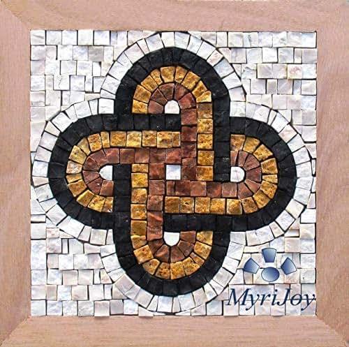 Mosaic craft kit for adults Solomon's knot - Italian