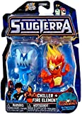 Slugterra Series 4 Chiller & Fire Elemental Exclusive Mini Figure 2-Pack (Jakks Pacific) by SLUGTERRA