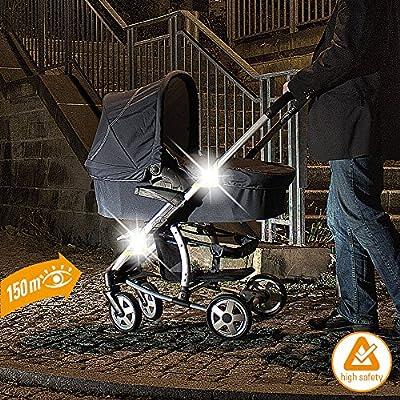 DIAGO 30029.75222 Kinderwagen Reflektoren