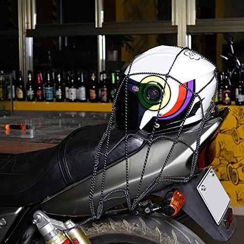 househome,Motorrad reflektierendes Kraftstoffhelm-Seil-Behälter-Netz