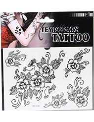 JTC 5 Papier Tatouage Temporaire imperméable Art Corporel Nouveau Design Petit Motif Simplement (105)