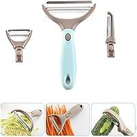 éplucheur, éplucheur de pommes de terre, éplucheur 3 en 1 en acier inoxydable pour fruits, légumes Eplucheur de légumes…