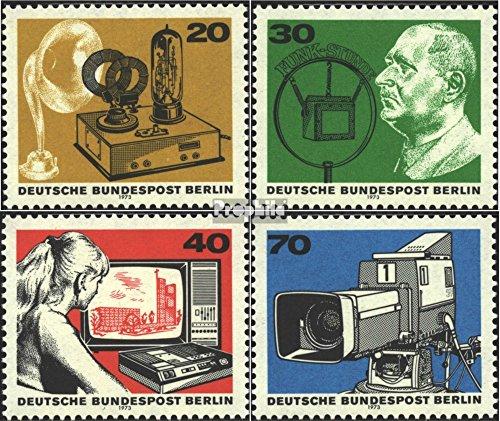 Prophila Collection Berlin (West) 455-458 (kompl.Ausgabe) 1973 50 Jahre Rundfunk (Briefmarken für Sammler)