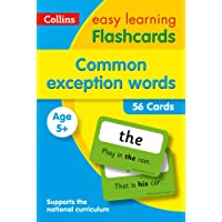 Common Exception Words Flashcards: Prepare for school with easy home learning (Collins Easy Learning KS1)