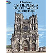 Cathedrals of the World Coloring Book (Dover Coloring Books) by John Green (2013-04-17)