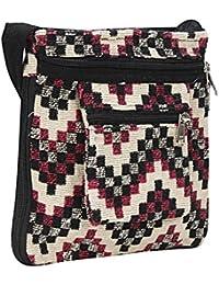 Sizzling Cross Body Bag, Shoulder Bag And Sling Bag For Women & Girls (Pink & Dusty Color) By Suman Enterprises