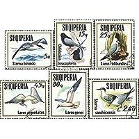 Albania 1620-1625 (completa.Problema) 1973 Uccelli marini (Francobolli ) - Francobolli Uccelli