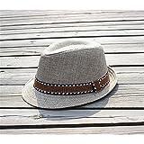 Interesting® Elegante Kinder Jungen Mädchen Unisex Fedora Jazz Plaid Ribbon Baby Kinder Cap Sun Hat