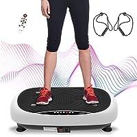 ATIVAFIT Fitness Vibrationsplatte mit Ultraflache Vibration Shaper Platte mit LCD Display, Fernbedienung…
