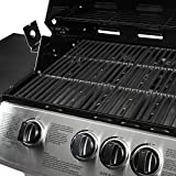 Mayer Barbecue ZUNDA Gasgrill MGG-331 Pro mit Seitenbrenner - 3