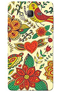 AMAN Wings of Love 3D Back Cover for Samsung Galaxy On5