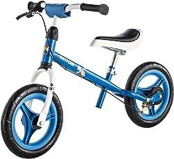 Kettler Laufrad Speedy Waldi 2.0 – das ideale Lauflernrad – Kinderlaufrad mit Reifengröße: 12,5 Zoll – stabiles & sicheres Laufrad ab 3 Jahren – blau & weiß