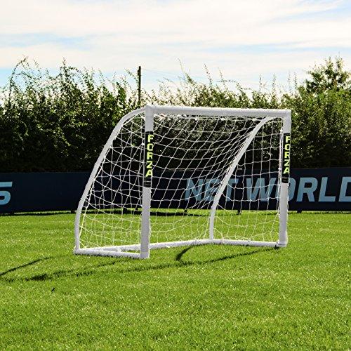 FORZA Match - 1,5 x 1,2 m wetterfestes Fußballtor. Neu: auch mit abnehmbarer Torwand bestellbar! [Net World Sports] (Forza Match 1.5x1.2m)