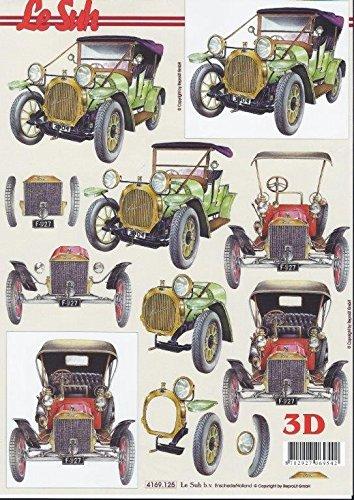 3D-Bogen-Oldtimer-Format-A4-basteln-Scrapbook-Stanzbogen-Deko-GWI-4169125