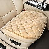 Asiento de coche para asientos de coche cubre universal accesorios interior 3piezas Short Plush