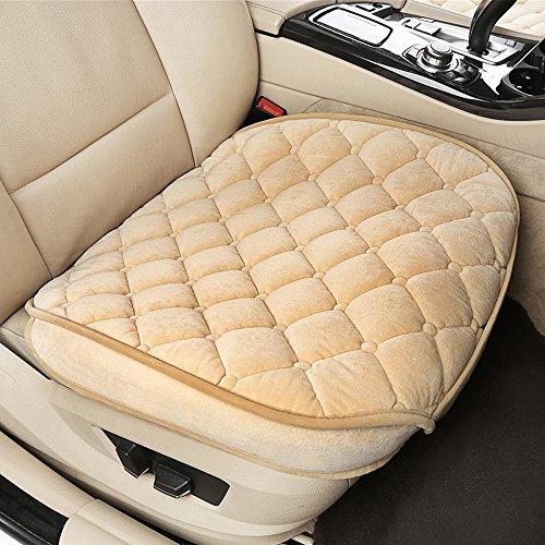 Coprisedili per auto, cuscini per sedili di colore nero e beige, colorati, felpati, corti