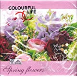 PAPER + DESIGN Lunchservietten Frühling Design Spring flowers