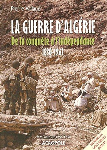 GUERRE D ALGERIE