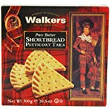 Walkers Petticoat Tails Shortbread 300 g (Pack of 4)