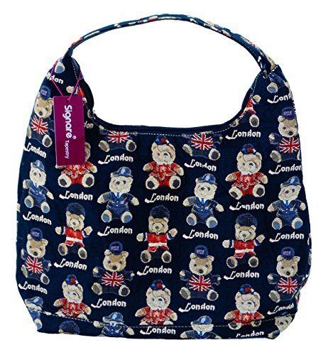 Sac shopper sac à main pour femme london beachtasche 1252 signare ourson