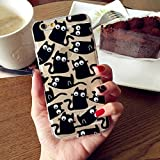 Jellybean Gorilla Cat 3D Cartoon Eyes Moving Foods Soft Silicone Gel Cover Case for Samsung Galaxy S7 Edge