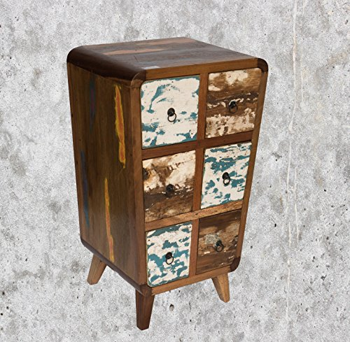 Mienloco (K26) Antique Teck Table Commode Cabinet Armoire Buffet TV Shabby Vintage Buffet rétro