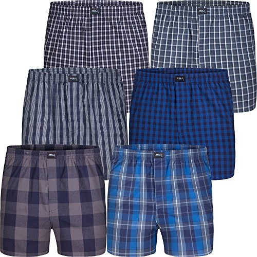 MG-1 Boxershorts Herren 6-Pack (Set 04 / Größe M) (Boxer Short Set)