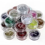 Neverland Professionelle 24 Mixed-Farben-Funkeln Mineral Lidschatten Augen Make-up Lidschatten Pigmente Powder