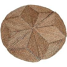 Alfombra redonda de esparto, Ø 150 cm