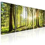 murando - Bilder Wald 200x80 cm - Leinwandbilder - Fertig