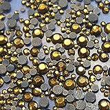 250Strass Glas Hotfix S16Ø 4mm N ° 130Hellbraun