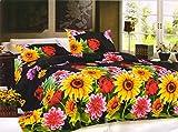Jiya Decor Double Bedsheet with 2 Pillow...