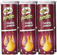 Pringles - Sabor jamón - 165 g - [Pack de 6]