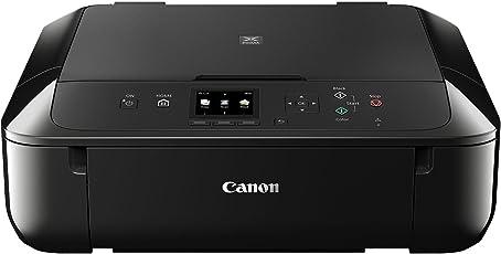 Canon Pixma MG5750 Farbtintenstrahl-Multifunktionsgerät (Drucken, Scannen, Kopieren, 5 separate Tinten, WLAN, Print App, Duplex, 4,800 x 1,200 dpi) schwarz