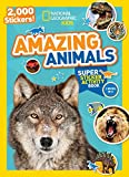 National Geographic Kids Amazing Animals Super Sticker Activity Book: 2,000 Stickers! (NG Sticker Activity Books)
