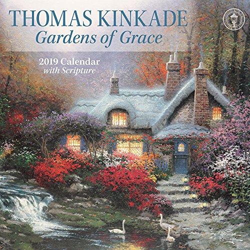 Thomas Kinkade Gardens of Grace 2019 Calendar par Thomas Kinkade