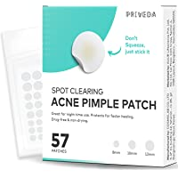 AUUR PRIVEDA Acne Pimple Healing Patch - Absorbing Cover, Invisible, Blemish Spot, Hydrocolloid, Skin Treatment, Facial…