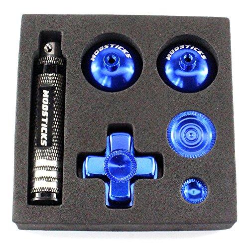 Preisvergleich Produktbild Modsticks Pro Stick Set passend für PS4® Controller - blau