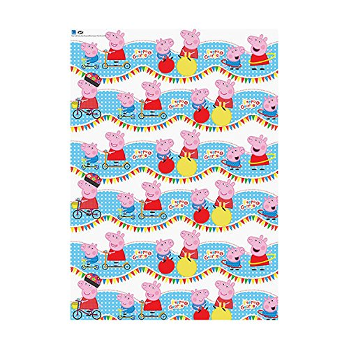 Image of Peppa Pig 4m Roll Wrap