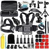 Iextreme 48-in-1 Kit accessori Per Gopro 5/4/3/2/1 SJ4000 SJ5000 SJ6000 Head Strap Chest Strap Selfie Stick