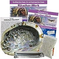 Indianisch schamanisch Räuchern 5-tlg Räucherset mit 16-20 cm Räuchermuschel + Räucherkohle + Sand + Zubehör +... preisvergleich bei billige-tabletten.eu