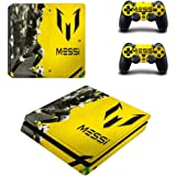 Messi Skin Sticker for Sony Playstation 4 (Slim) and Remote Controllers