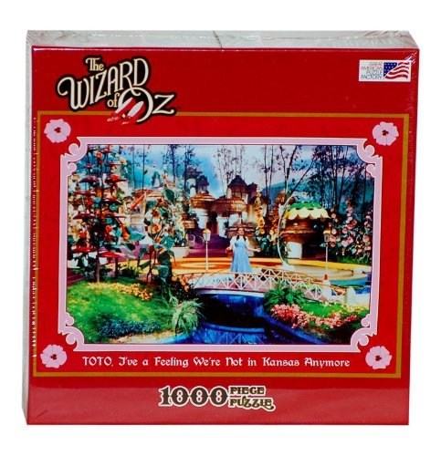 Toto, Ive A Feeling Were Not In Kansas Anymore 1000 Piece Jigsaw Puzzle