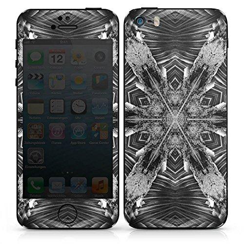 Apple iPhone SE Case Skin Sticker aus Vinyl-Folie Aufkleber Abstrakt Batik Tie Dye DesignSkins® glänzend