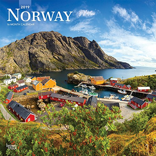 Norway 2019 Square Wall Calendar por Browntrout