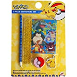 Pokemon 5 Piece School Essentials Stationery Set