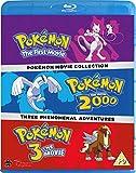 Pokemon Movie Collection (3 Blu-Ray) [Edizione: Regno Unito] [Edizione: Regno Unito]