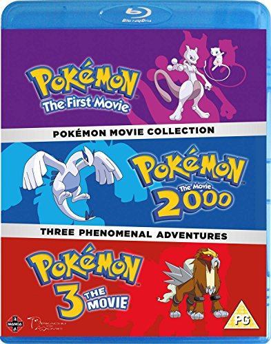 Pokemon Movie 1-3 Collection [Blu-ray] [UK Import]