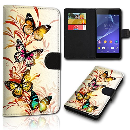 sw-mobile-shop Book Style Wiko Sunset 2 Tasche Flip Brieftasche Handy Hülle Kartenfächer für Wiko Sunset 2 - Design Flip NEW48